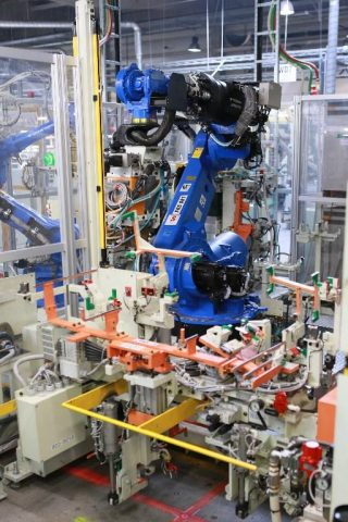 Automated manufacturing at Futaba